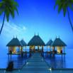 รูป เอโทล มัลดีฟส์ ปาล์ม บางนา-วงแหวน (Atoll Maldives Palms)