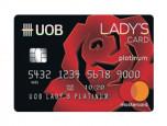 บัตรเครดิต ยูโอบี เลดี้ แพลทินัม (UOB Lady's Platinum) บัตรเครดิต ยูโอบี เลดี้ แพลทินัม : ภาพที่ 1/2