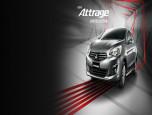 Mitsubishi Attrage Limited Edition White Pearl มิตซูบิชิ แอททราจ ปี 2019 ภาพที่ 2/7