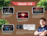 Suzuki Smash FW110SD-P สตาร์ทมือ ล้อซี่ลวด ซูซูกิ ปี 2016 ภาพที่ 2/5