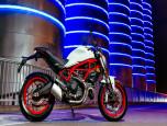 Ducati Monster 797 (สีขาว, สีดำ) ดูคาติ มอนสเตอร์ ปี 2017 ภาพที่ 08/11