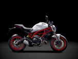 Ducati Monster 797 (สีขาว, สีดำ) ดูคาติ มอนสเตอร์ ปี 2017 ภาพที่ 05/11