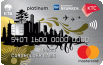 รูป บัตรเครดิต KTC - BEST WESTERN PLATINUM MASTERCARD-บัตรกรุงไทย (KTC)