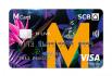 รูป บัตรเครดิตไทยพาณิชย์ SCB M Live Visa Platinum-ธนาคารไทยพาณิชย์ (SCB)
