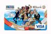 รูป บัตรเดบิตวันพีซกสิกรไทย-ธนาคารกสิกรไทย (KBANK)