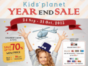 KIDS' PLANET YEAR END SALE 2015