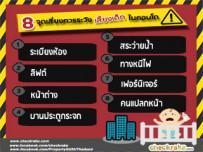 8 จุดเสี่ยงควรระวัง! เพื่อความปลอดภัยของเด็กในคอนโด