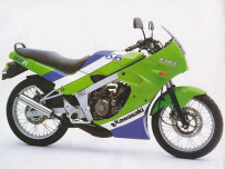Kawasaki KR 150 R มอเตอร์ไซค์ 2 จังหวะตัวแรงในตำนาน