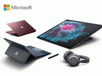 Surface Pro 6, Surface Laptop 2, Surface Studio 2 และ Surface Headphones