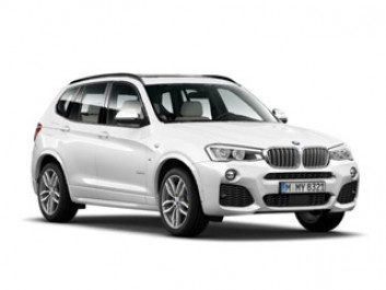 BMW X3, X6, M4 coupe
