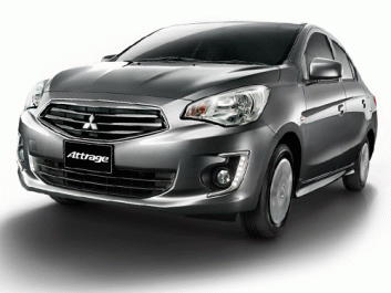 Mitsubishi Attrage Limited Edition