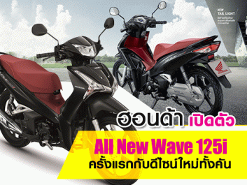 All New Wave 125i 2018