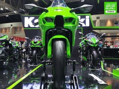 คาวาซากิ เสริมทัพกับ Ninja ZX-10RR และ MEGURO K3 พร้อมเปิดธุรกิจใหม่จักรยานใน Motor Expo 2020