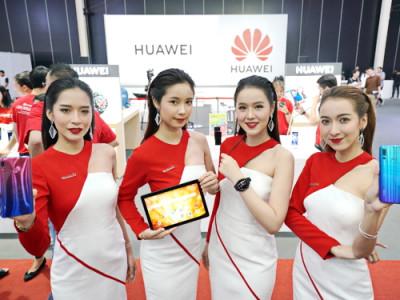Huawei ครองพื้นที่บูธใน TME ใหญ่ที่สุดในประวัติศาสตร์ เปิดตัวสินค้าใหม่ครบทุกไลน์ครั้งแรกในงาน