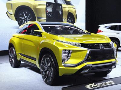 Mitsubishi ส่ง eX Concept พร้อมรถรุ่นอื่นๆ ลุยงานมอเตอร์โชว์ 2018