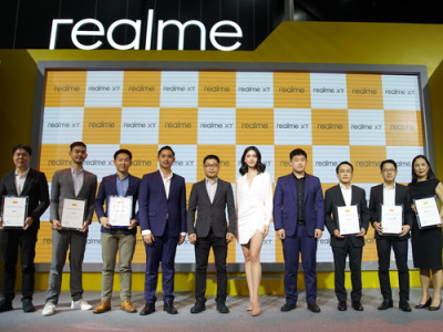 อีกก้าวของความสำเร็จ realme กับการจับมือกับพาร์ทเนอร์มากกว่า 10 แห่ง ในงาน Thailand Mobile Expo 2019