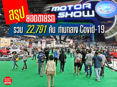 บทสรุป Bangkok International Motor Show 2020 ดันยอดขายรถรวม 22,791 คัน ท่ามกลาง Covid-19