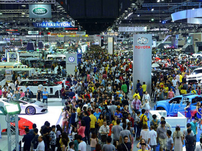 Motor Expo 2016 ให้โชคผู้ชมและจองรถ พร้อมแนะนำการเดินทาง