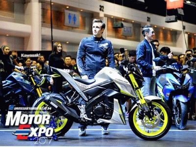 ยามาฮ่า ดึง Zarco เปิดตัว SCR950, XSR700, M-SLAZ LE และ AEROX 155 สีใหม่ ใน Motor Expo 2017