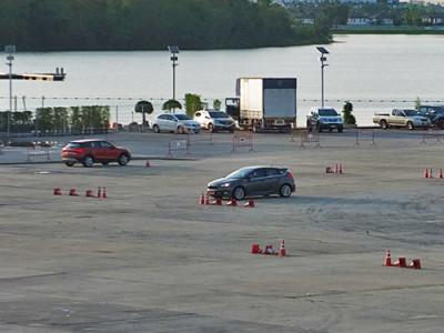 แอบส่องลาน Test Drive ริมทะเลสาบในงานมอเตอร์โชว์ 2017