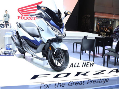 Honda นำทัพรถมอเตอร์ไซค์ พร้อมรถบิ๊กไบค์ อัดแน่นบูธ มอเตอร์โชว์ 2018