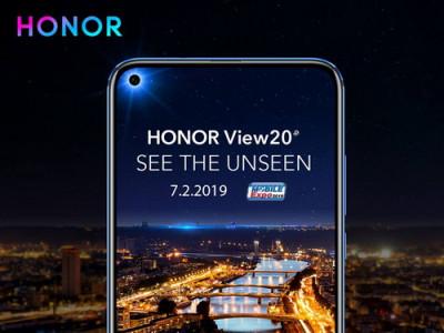 Honor View 20 สมาร์ทโฟนกล้องหน้าแบบเจาะรู เตรียมเปิดตัวครั้งแรก ในงาน Thailand Mobile Expo 2019