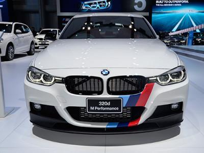 BMW จัดเต็มรถยนต์ใหม่ในมอเตอร์โชว์ 2017