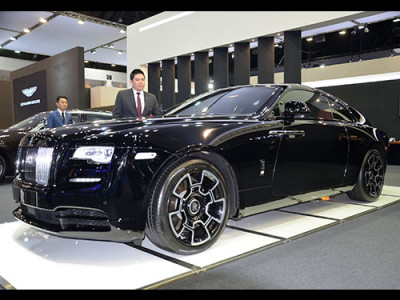Rolls-Royce Wraith Black Badge เปิดตัวครั้งแรกใน ASEAN ที่งาน Motor Show 2017