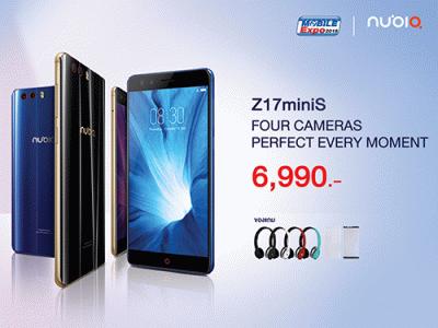 Nubia Z17 miniS สีใหม่ Deep Blue กับราคาเพียง 6,990 บาท พร้อมวางจำหน่ายในงาน Thailand Mobile EXPO 2018