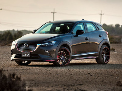 Mazda โชว์ CX-3 Racing Concept ในงานมอเตอร์โชว์ 2016