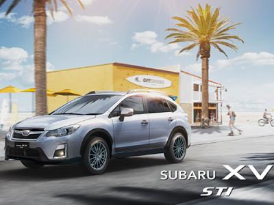 Subaru XV จัดเต็มชุดแต่ง STI เผยโฉมครั้งแรกในงาน Motor Expo 2016
