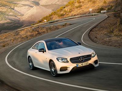 Mercedes-Benz E-Class Coupe ใหม่ พร้อมเผยโฉมในมอเตอร์โชว์ 2017