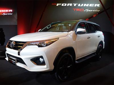 Toyota Fortuner TRD Sportivo เพิ่มความสปอร์ตด้วยชุดแต่งรอบคัน