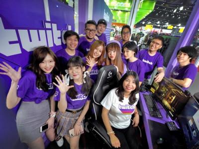 Twitch โชว์ Live Streaming ของสตรีมเมอร์ชื่อดัง ในงาน Thailand Game Expo by AIS eSport 2020