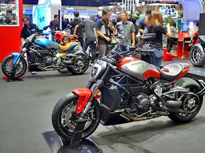 Ducati เปิดตัวรถ Custom Cruiser พร้อมแคมเปญพิเศษใน Motor Expo 2016
