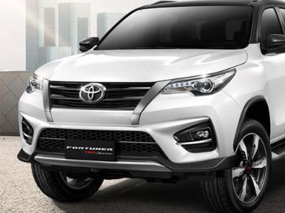 Toyota Fortuner TRD ใหม่ มาดเข้มดุดันรับ Motor Expo 2018