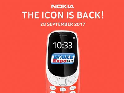 โนเกียวางจำหน่าย Nokia 3310 พร้อมโปรโมชั่นสุดแรงทุกรุ่นในงาน Thailand Mobile Expo 2017