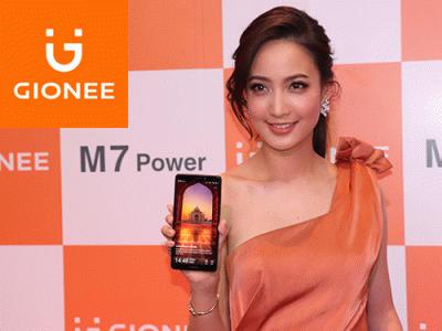 """เปิดตัวสมาร์ทโฟนไร้ขอบ Gionee M7 Power ราคา 9,990 บาท พร้อมพรีเซนเตอร์ """"แต้ว ณฐพร เตมีรักษ์"""""""