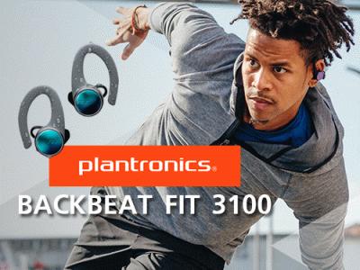 "Plantronics เอาใจสาย Sport เปิดตัว ""BackBeat FIT 3100"" พร้อมวางขายครั้งแรกในงาน Thailand Mobile Expo 2018"