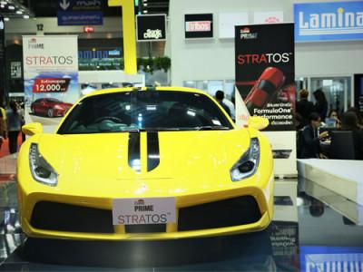 ฟิล์มติดรถยนต์ ลามิน่า LLumar Prime Stratos ระดับอนุภาค 1,000 ล้านนาโนหนึ่งเดียวในโลก