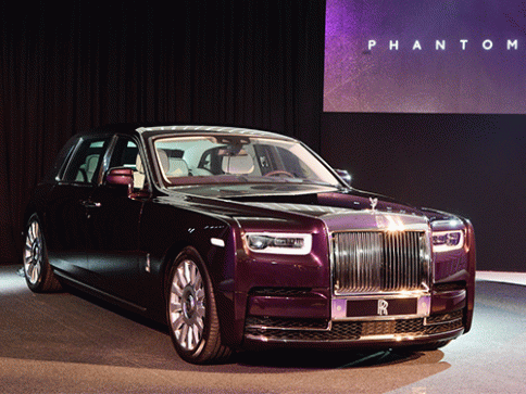 โรลส์-รอยซ์ Rolls-Royce New Phantom Extended Wheelbase ปี 2018