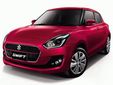ซูซูกิ Suzuki Swift GLX-Navi CVT MY18 ปี 2018