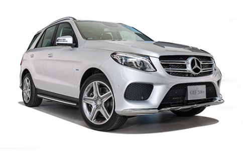 เมอร์เซเดส-เบนซ์ Mercedes-benz GLE-Class GLE 500 e 4MATIC AMG Dynamic ปี 2016