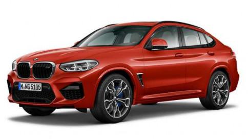 บีเอ็มดับเบิลยู BMW-X4 M 19-ปี 2019