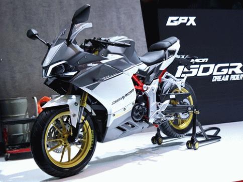 จีพีเอ็กซ์ GPX Demon 150 GR Sport Edition ปี 2017