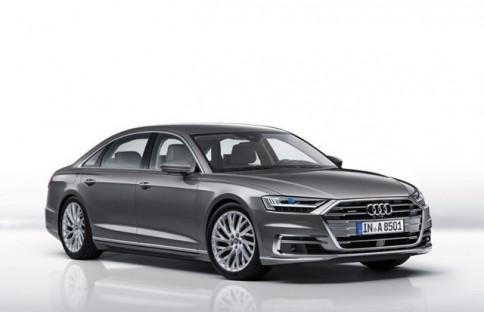 อาวดี้ Audi-A8 L 55 TFSI quattro Prestige-ปี 2018