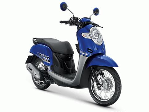 ฮอนด้า Honda Scoopy i URBAN TEAM 2019 ปี 2019