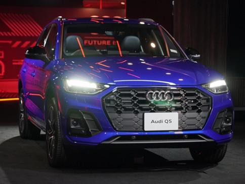 อาวดี้ Audi-Q5 45 TFSI quattro S line Black Edition-ปี 2021