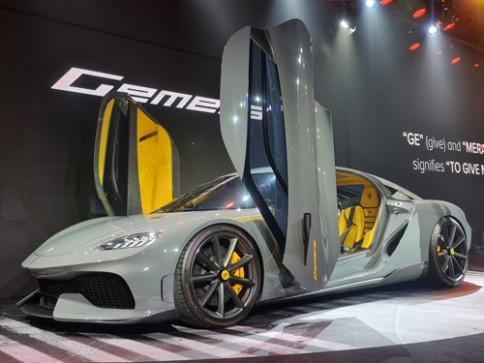 ปิยะ อินเตอร์เนชั่นแนล Koenigsegg-Gemera Mega-GT 4 Seats-ปี 2020