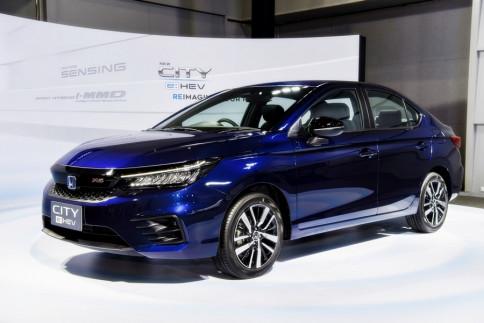 ฮอนด้า Honda City e:HEV RS ปี 2020